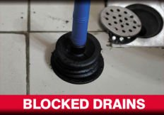 Blocked drain fixed by our plumbers in Wollongong
