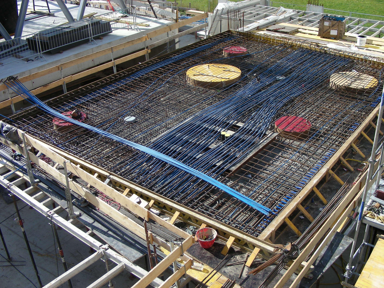 pavimento in costruzione