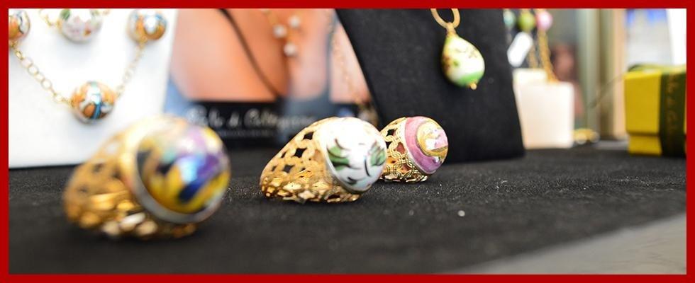 anelli le perle di caltagirone