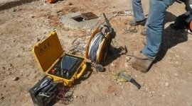 drilling for geognostic studies, excavations, surveys