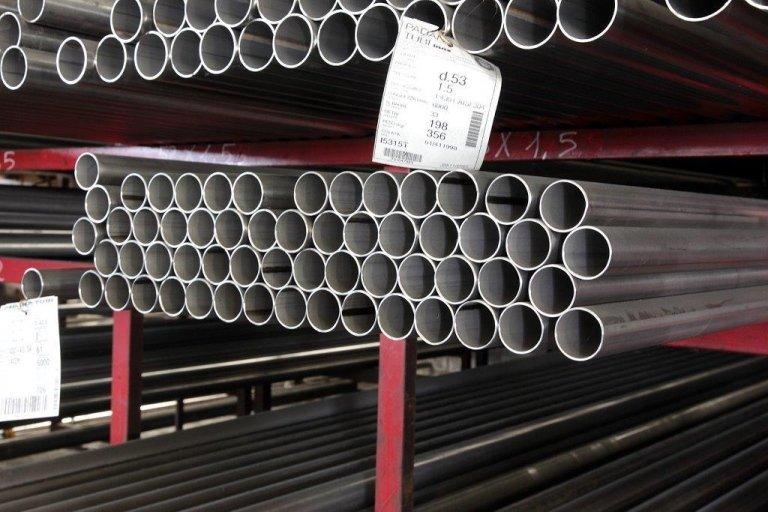vendita tubi e barre in acciaio inox