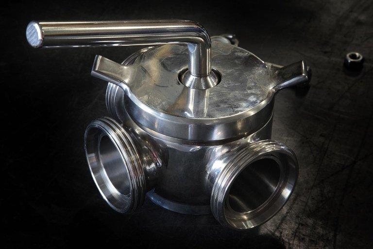 raccorderia in acciaio inox