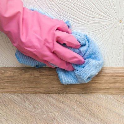 Wall scrubing