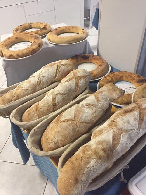 del pane di diverso tipo