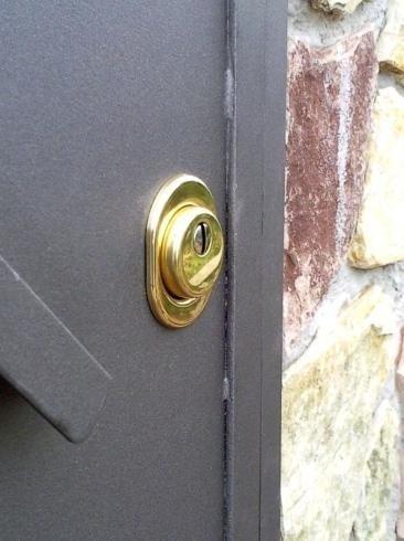 Defender porta blindata