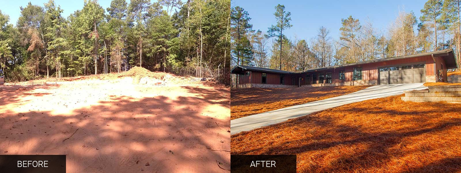 Riverbend Parkway Before After