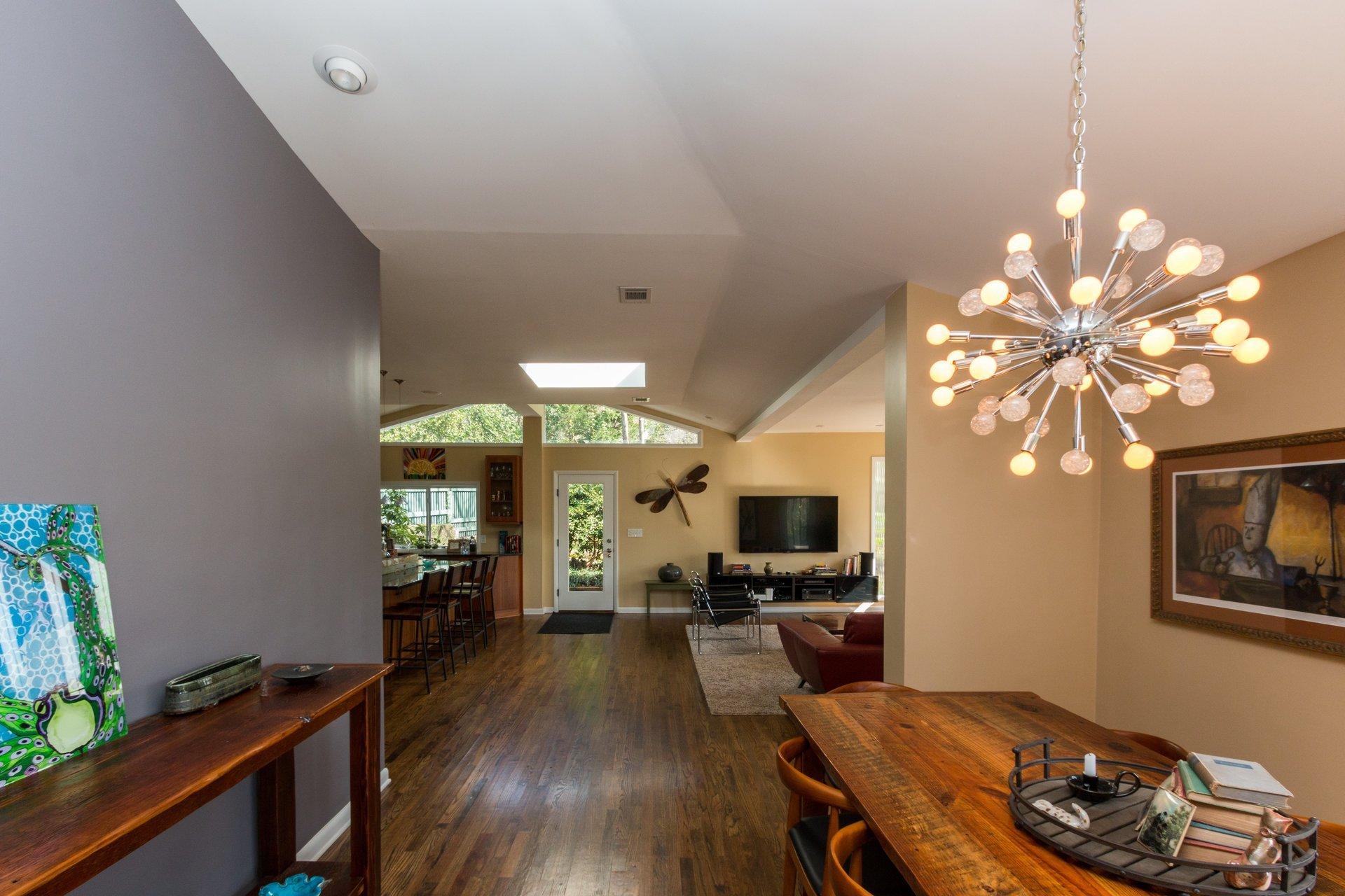 Open, spacious floor plans.