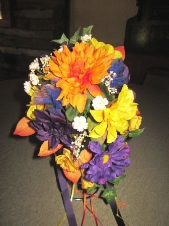 Custom Made Silk Floral Centerpieces