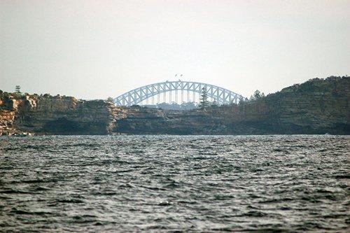 View of Sydney bridge
