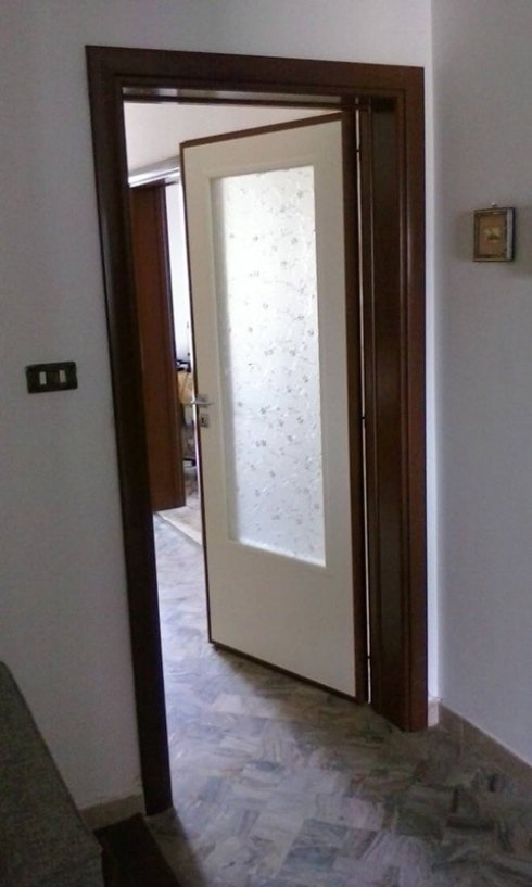 Porta interna contorno legno