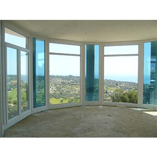 Vetrata panoramica vista