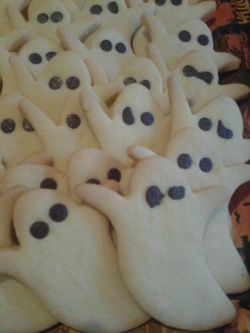 biscotti a forma di fantasma