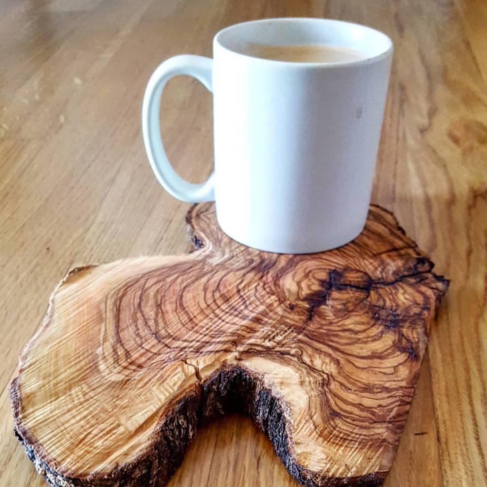 sottobicchiere in legno