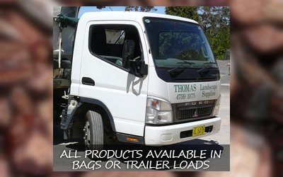thomas landscaping and building suppliers vehicle