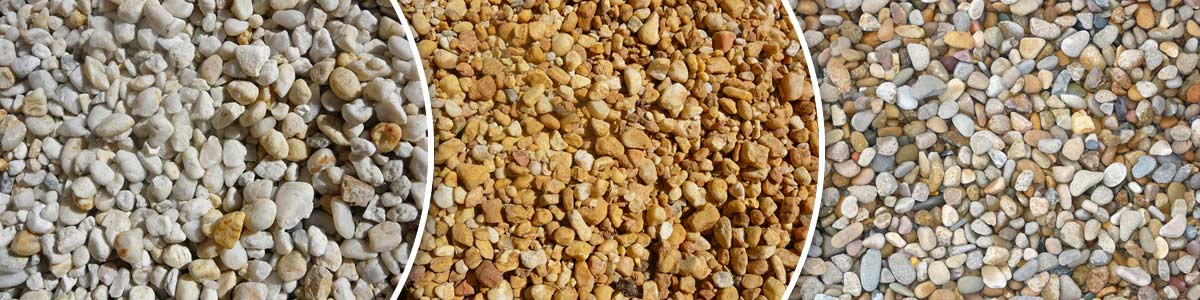 Landscaping materials lawson thomas landscaping for White gravel landscaping