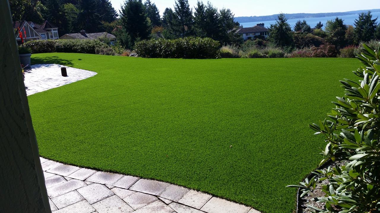 Artificial Grass Backyard Ideas Patio