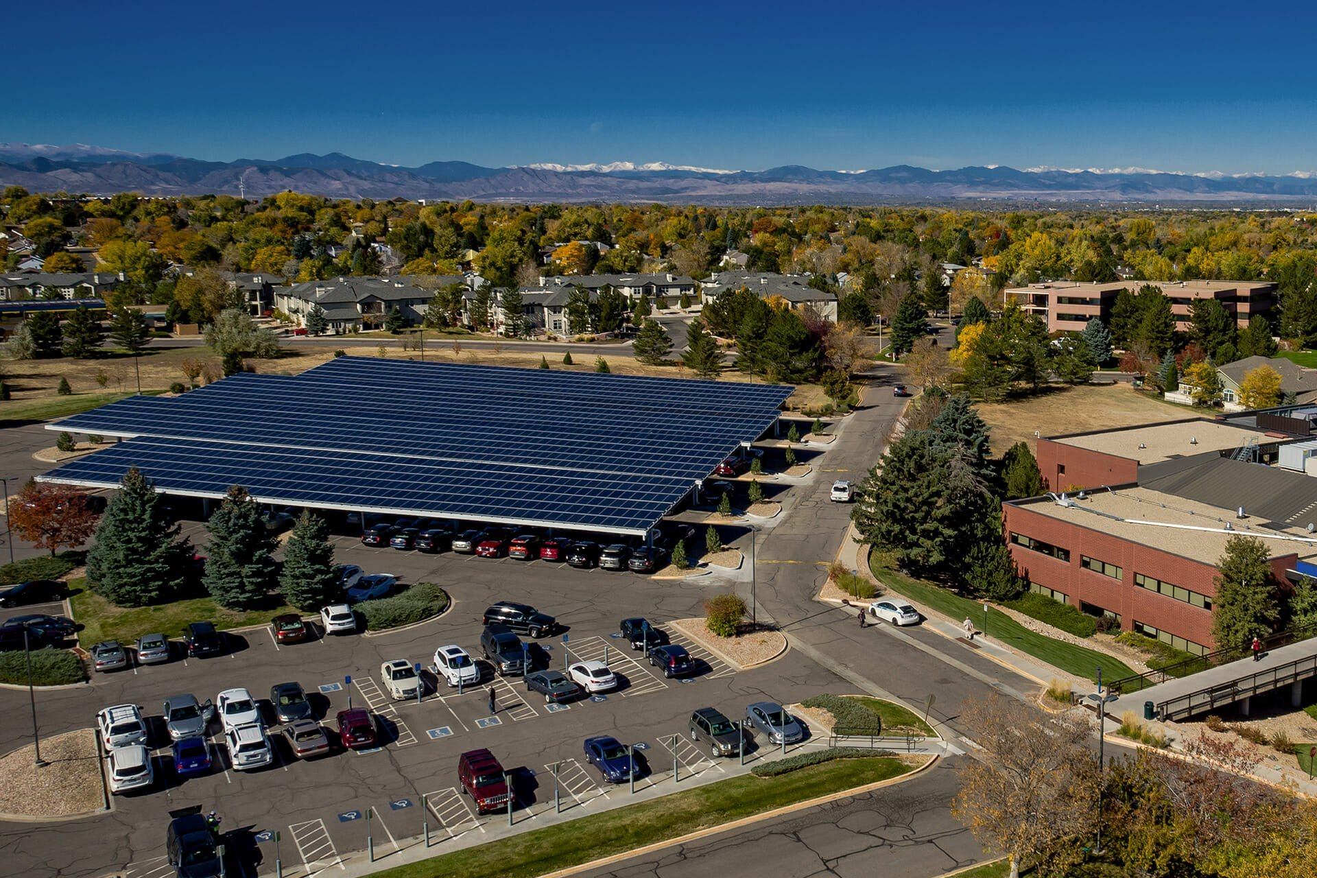 Commercial Solar Carports In San Diego Us Green