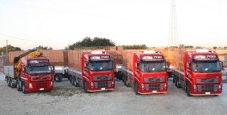 trasporto cemento e laterizi
