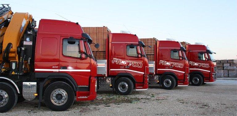 trasporto laterizi e cemento armato