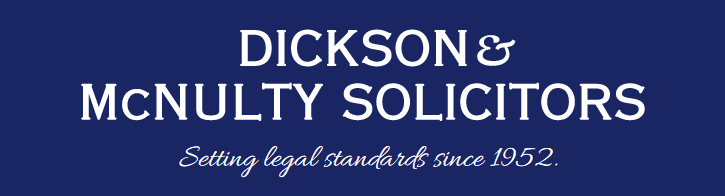 Dickson & McNulty Solicitors Logo