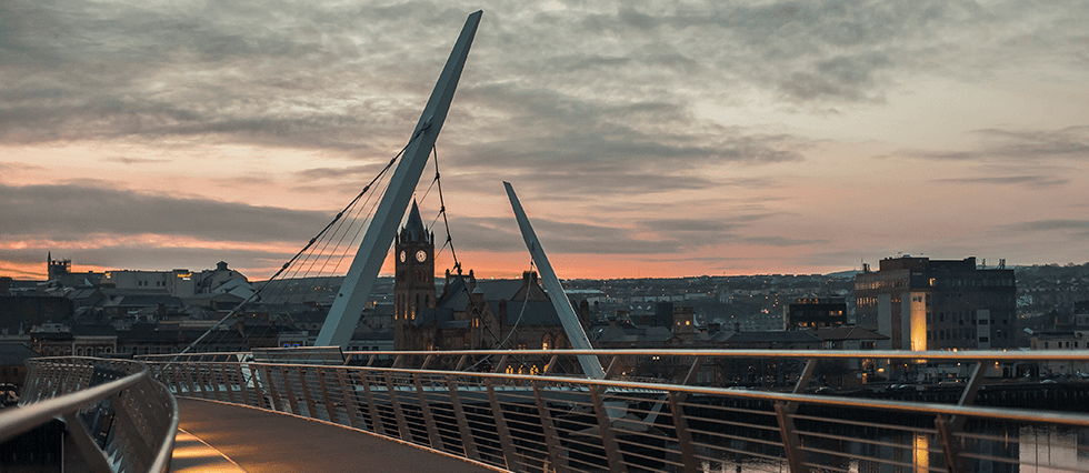 Twilight view of Londonderry