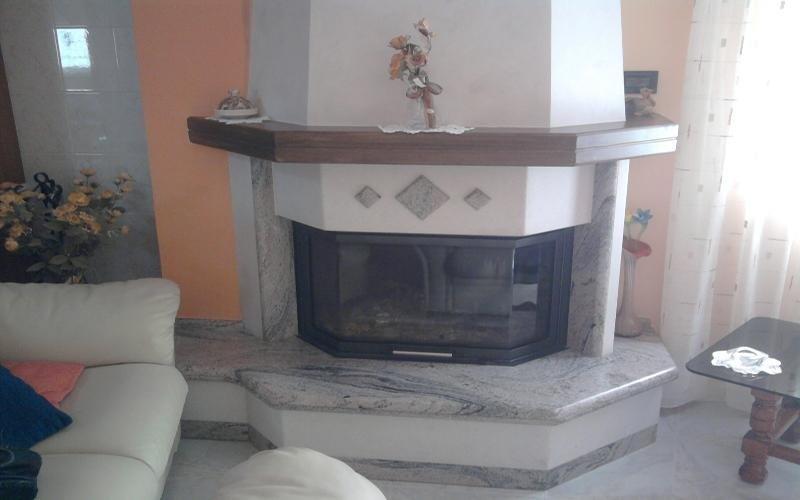 rivestimento marmo grigio