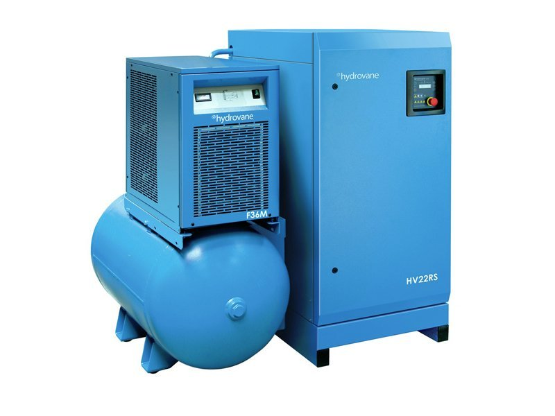 Hydrovane air compressors servicing