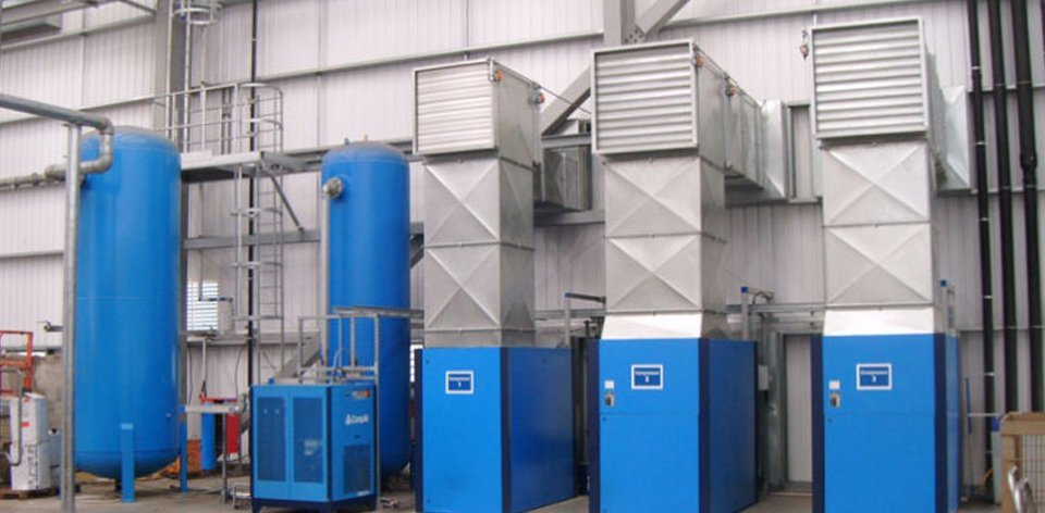 pneumatic compressor