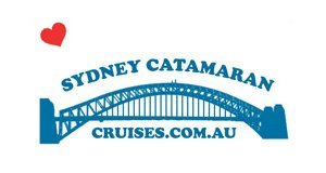 sydney catamaran cruises business logo