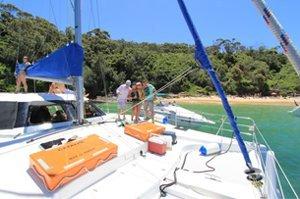 sydney catamaran cruises catalpa max 30 passengers