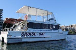 sydney catamaran cruises cruise cat max 49 passengers