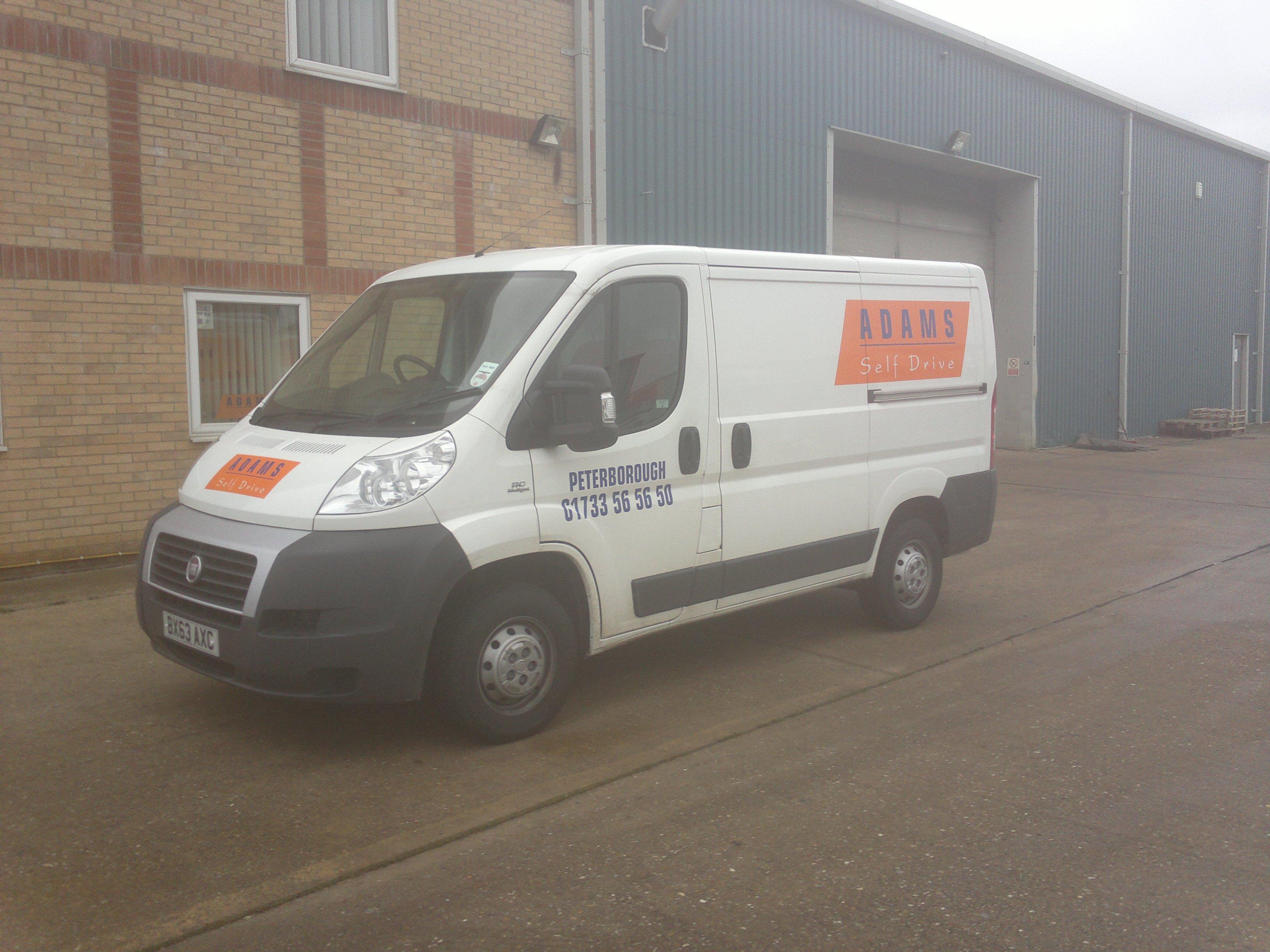 commercial small van