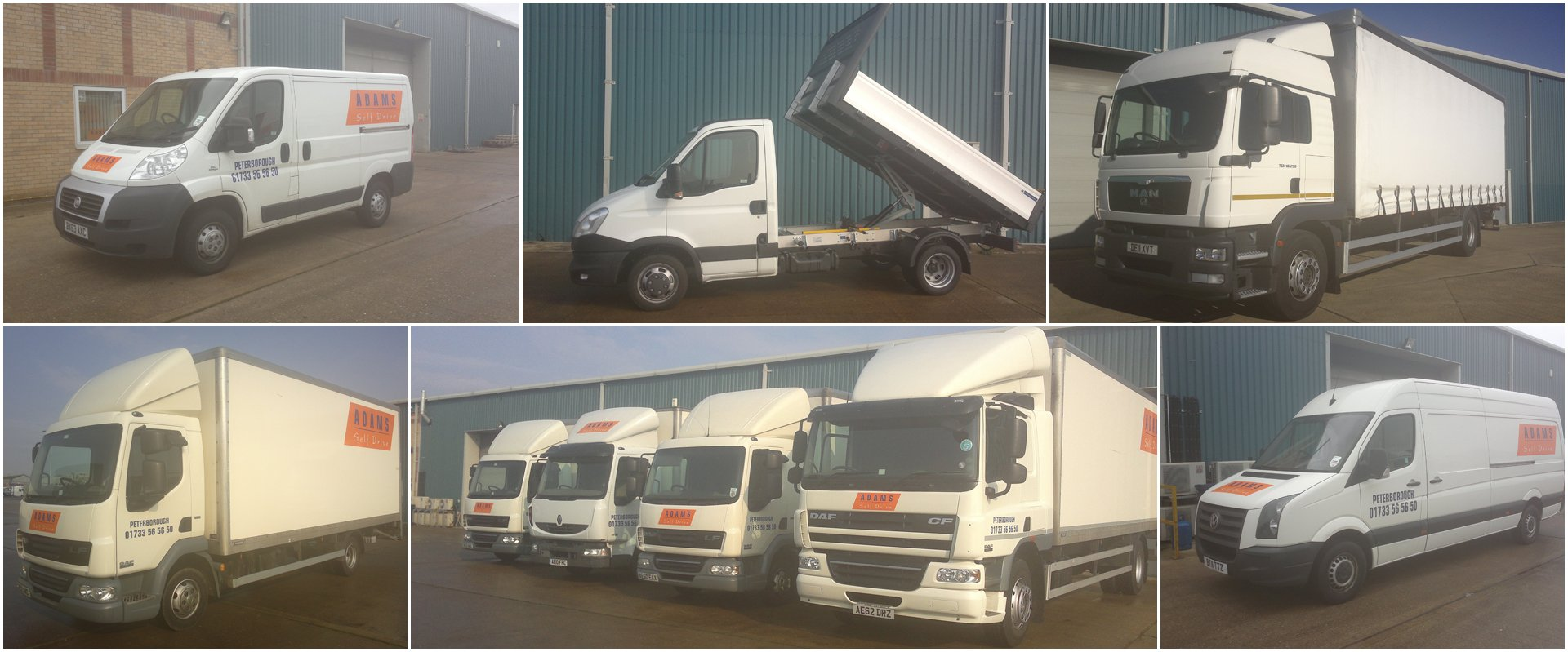 Commercial vehicles for hire