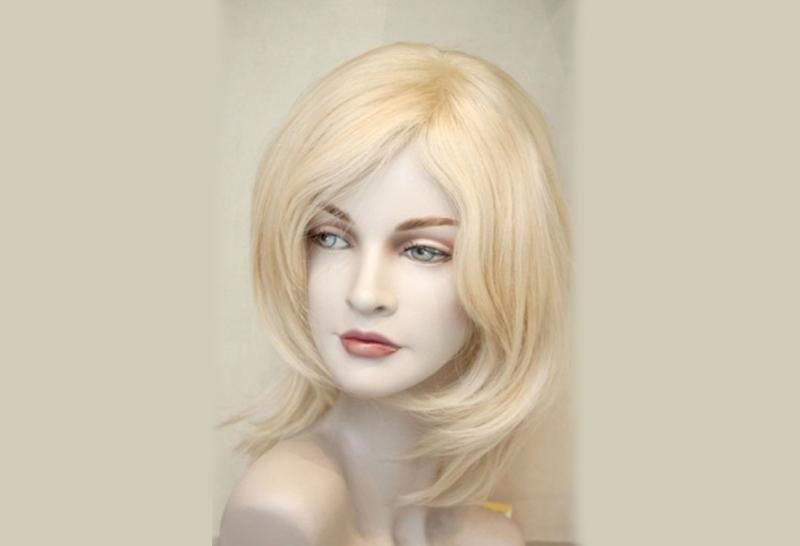 parrucca artigianale bionda