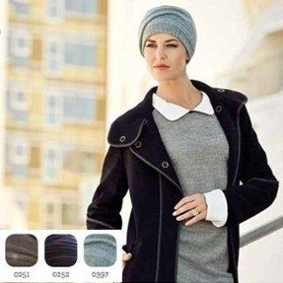 isolde hat w. headband – knitted