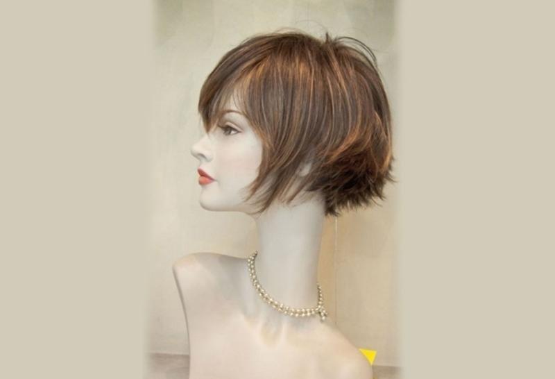 parrucca artigianale capelli corti