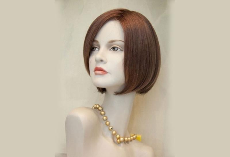 parrucca capelli a caschetto