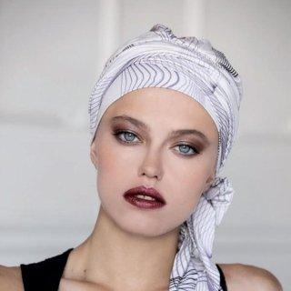 turbante perla