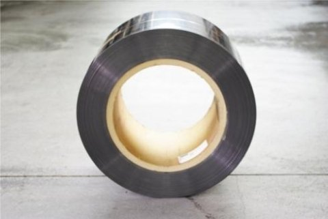 production of steel strips