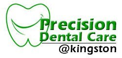 precision dental care logo