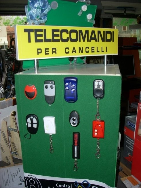 Radiocomandi per cancelli