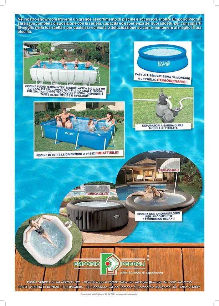 Promo estate 2015 - PISCINE - arredo giardino, arredo esterno, piscine
