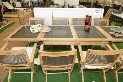 tavole e sedie da esterni