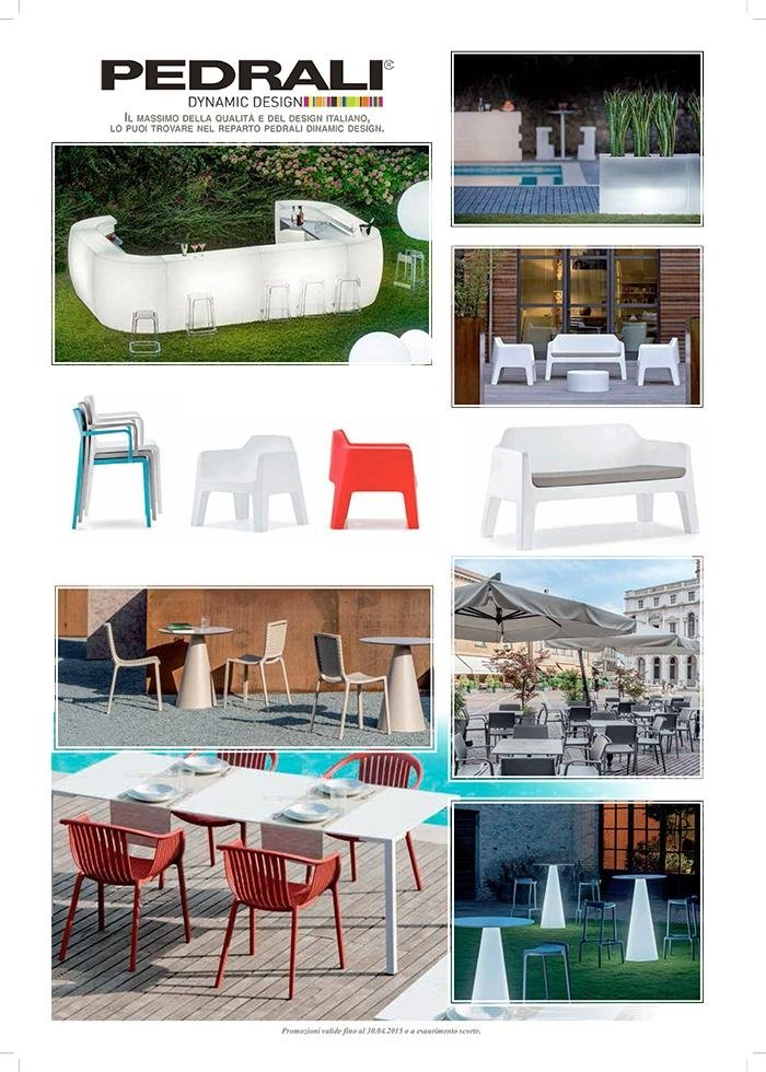 Promo estate 2015 - PEDRALI - arredo giardino, arredo esterno, piscine