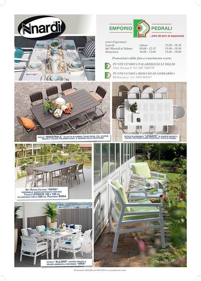 Promo estate 2015 - NARDI - arredo giardino, arredo esterno, piscine