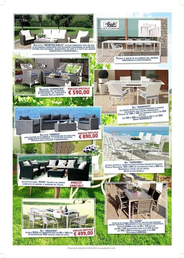 Promo estate 2015 - EMU - arredo giardino, arredo esterno, piscine