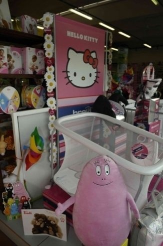 hello kitty e barbapapà