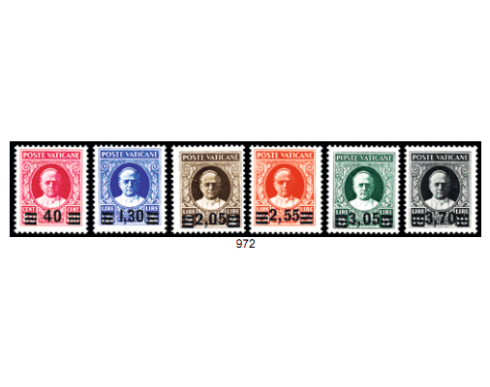 serie provvisoria 1934