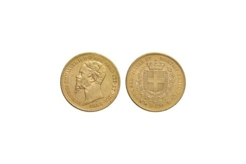 20 Lire 1858 G