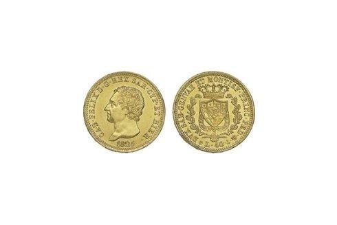 40 Lire 1825 G